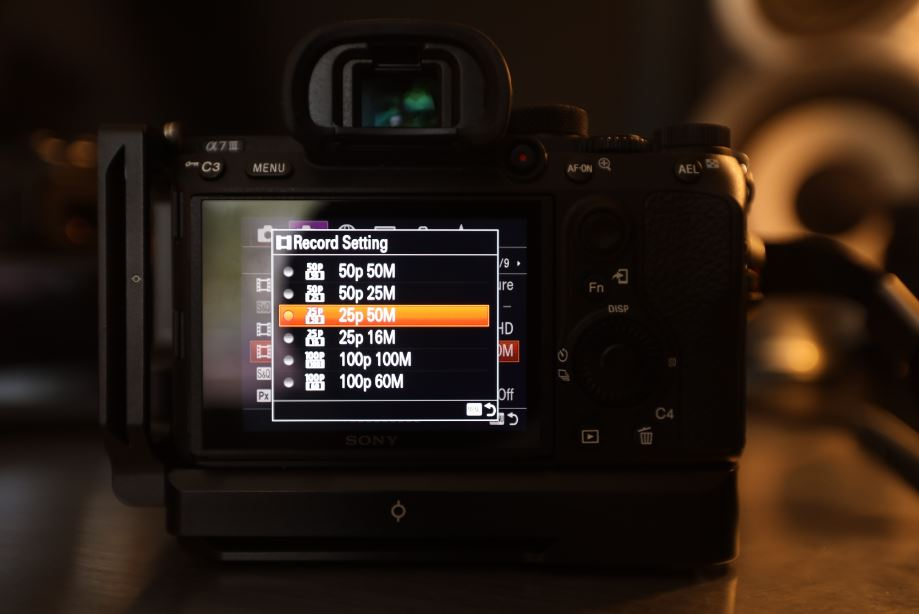 The Sony A7iii lets you shoot up to 100fps