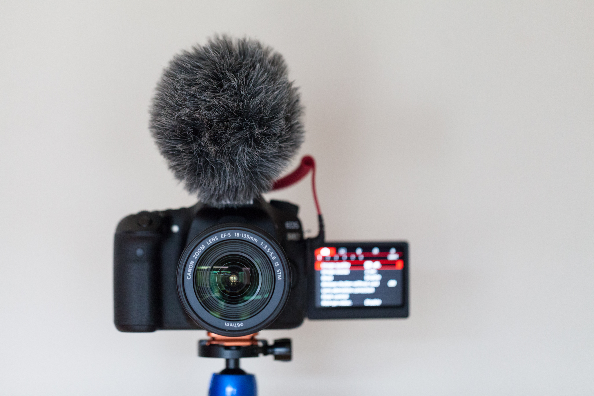 The autofocus and fully articulating screen makes this the perfect camera for making video