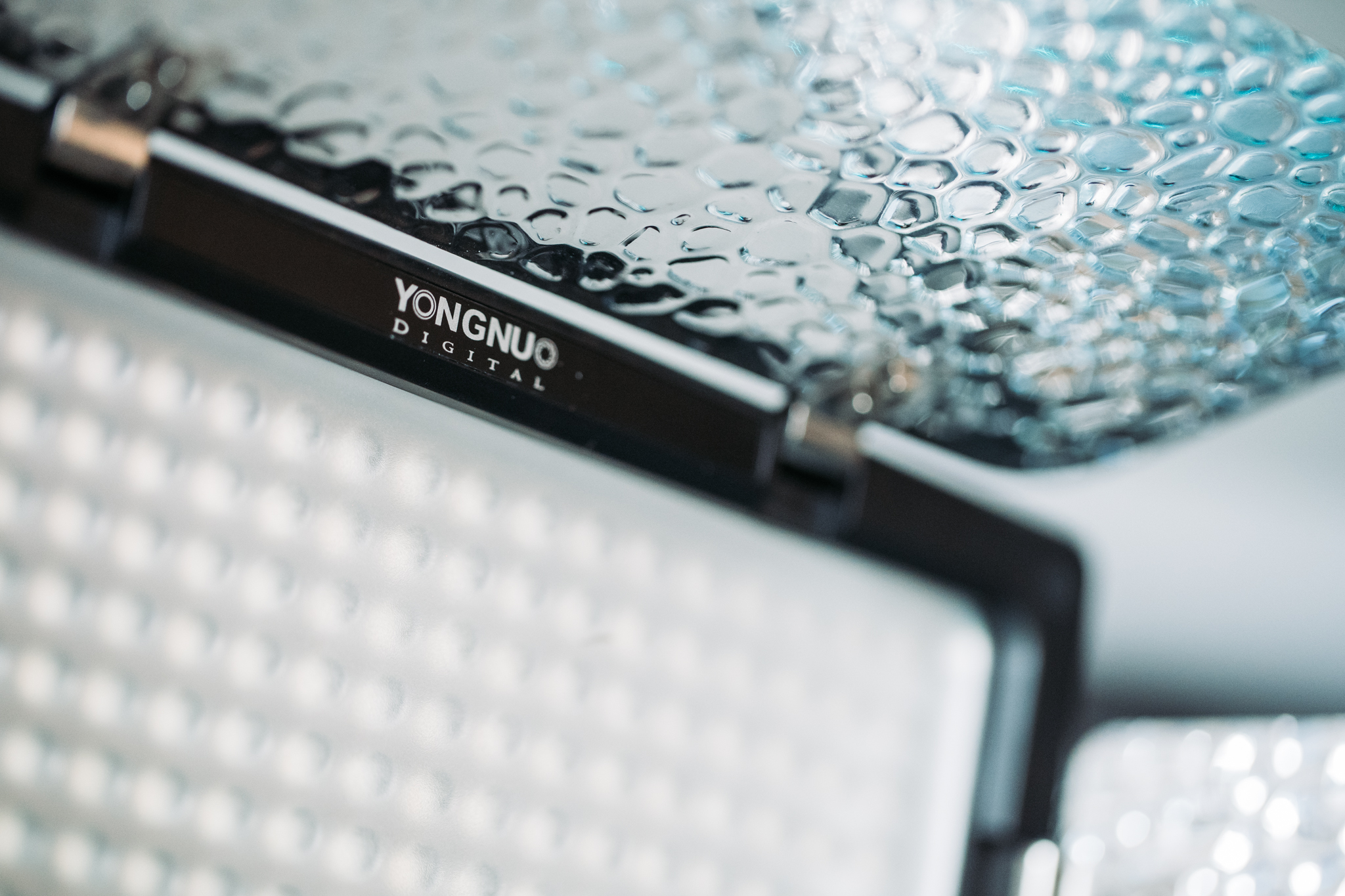 Daylight balanced LED panels - ideal for video or product photography