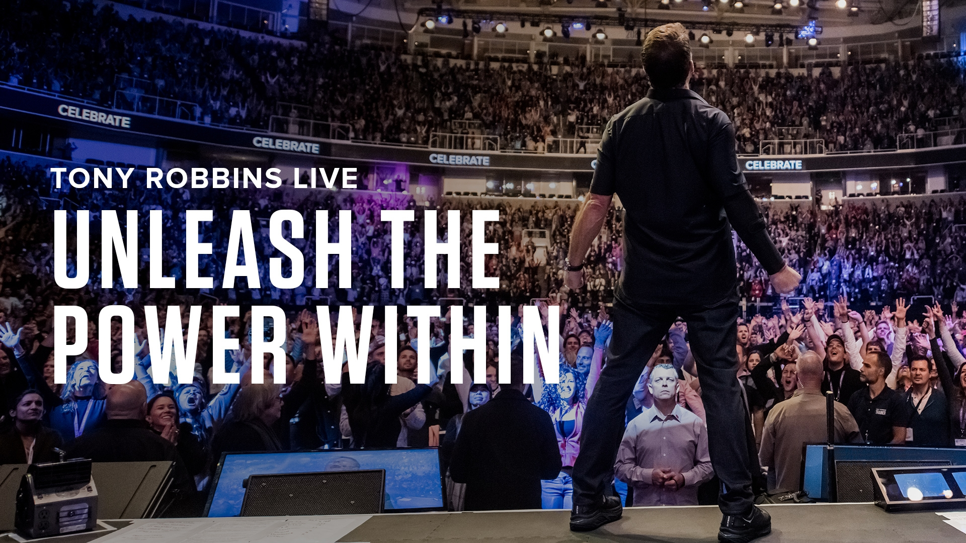 Tony Robbins' Unleash The Power Within Event, November 8-11, Newark, NJ.