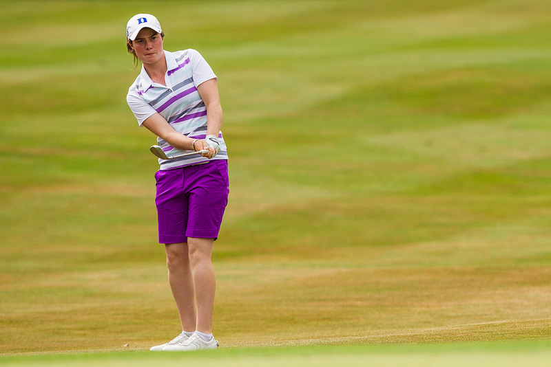 Leona Maguire en route to second place in the Ladies European Tour's ISPS British Masters at the Buckinghamshire