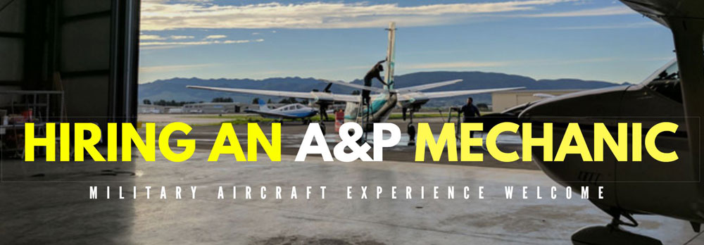 We are currently looking for an a&p mechanic. contact us today for more information.