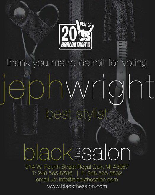 jeph wright best stylist in royal oak