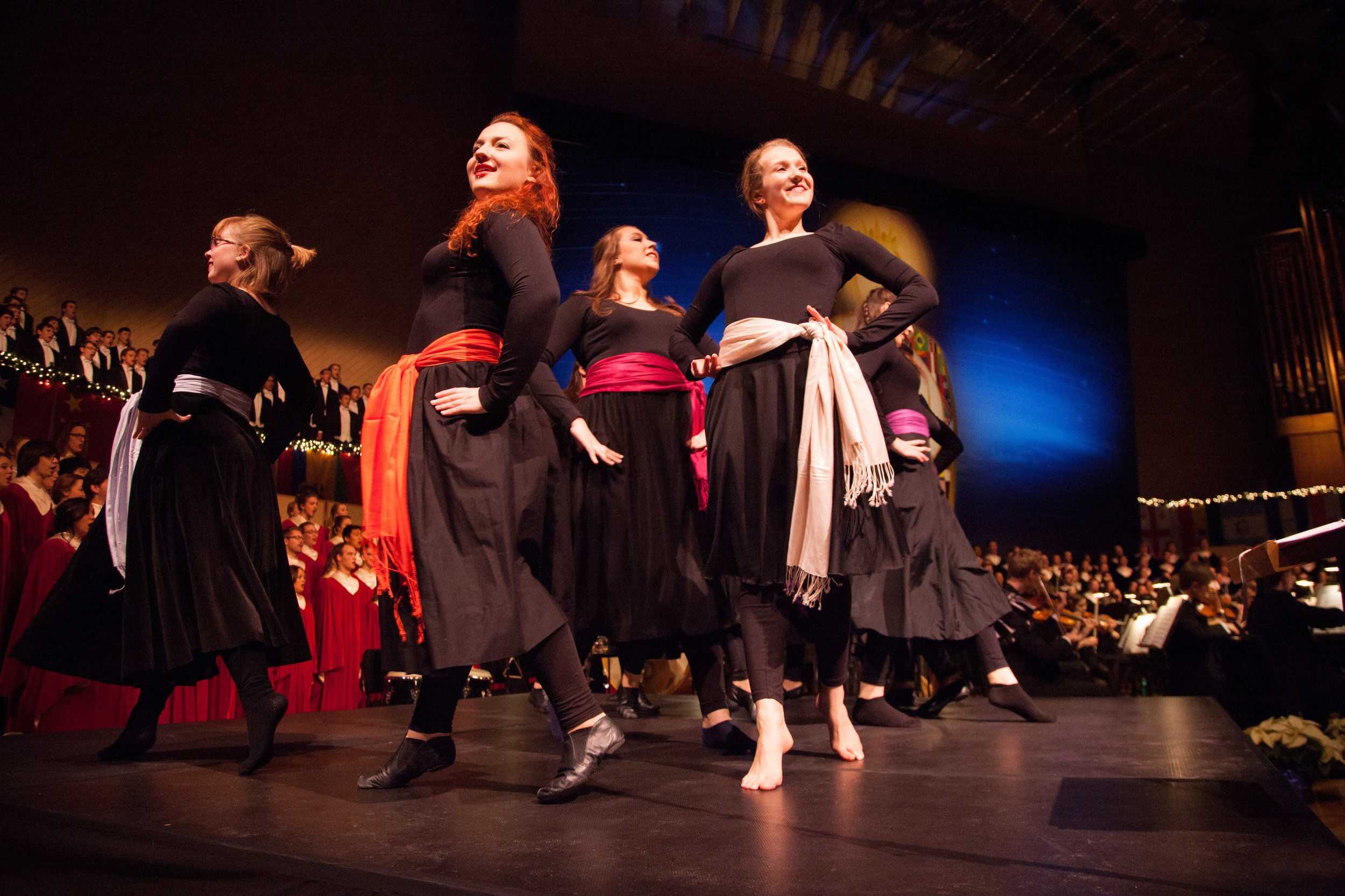 This year's show included some unique additions to the show, including some Spanish dancing.