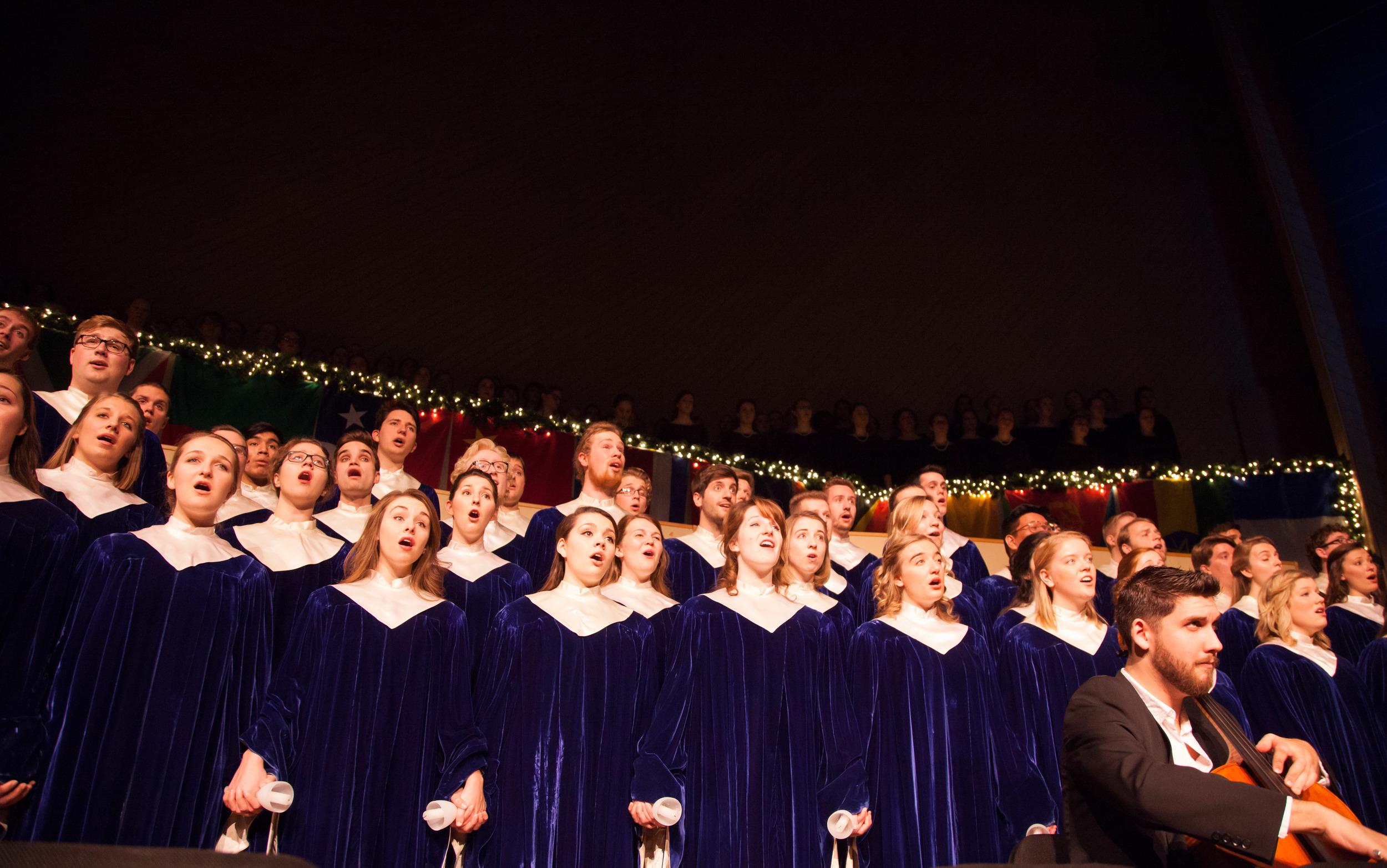 Nordic Choir, Luther's top choir.