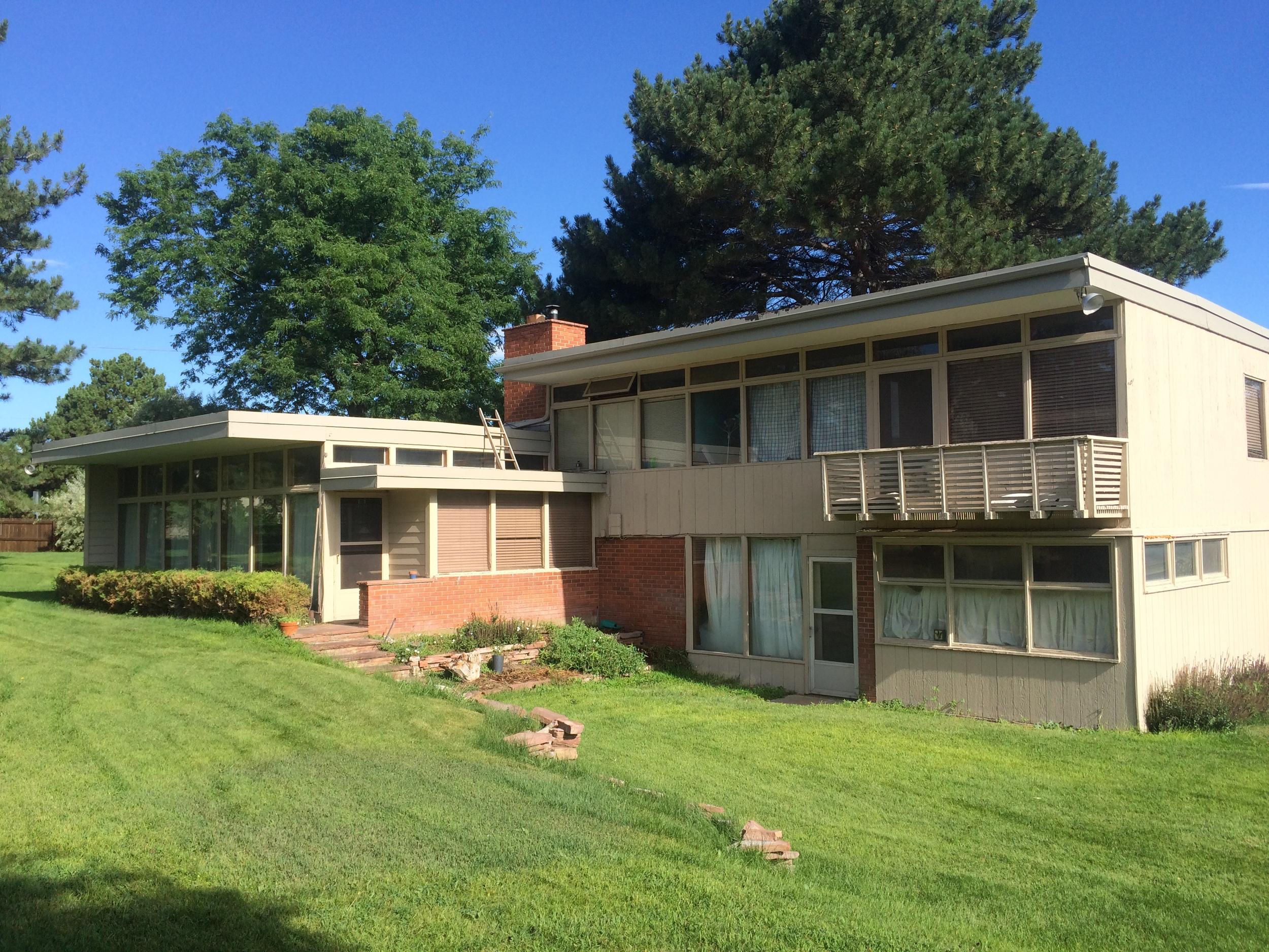 Robert Runnells Residence - Greeley Colorado - Architect, David B. Runnells