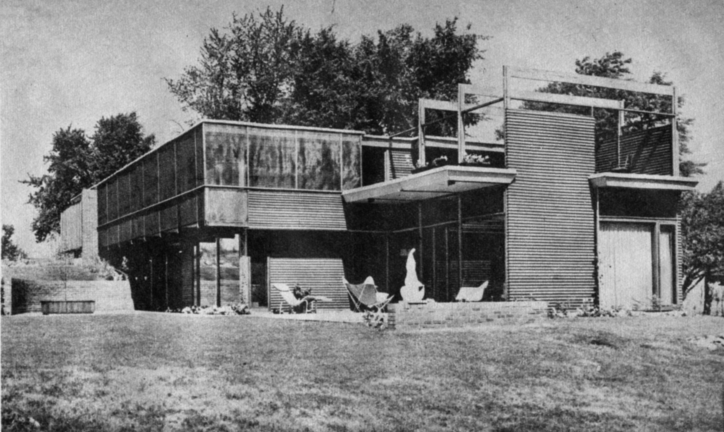 David B. Runnells Personal Residence - Fairway Kansas -Demolished - Architect, David B. Runnells