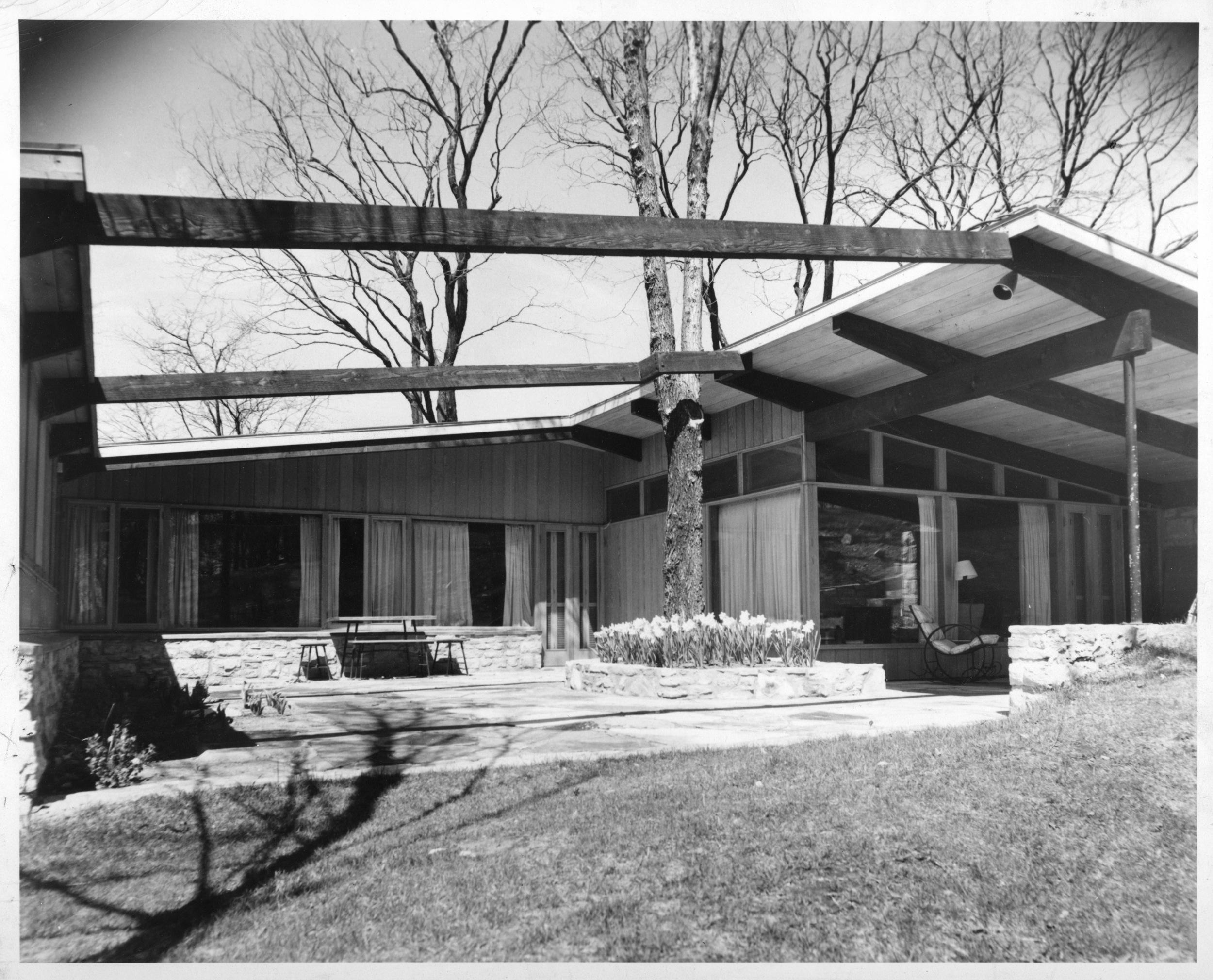 Reed Residence - Leawood Kansas - Architect, David B. Runnells