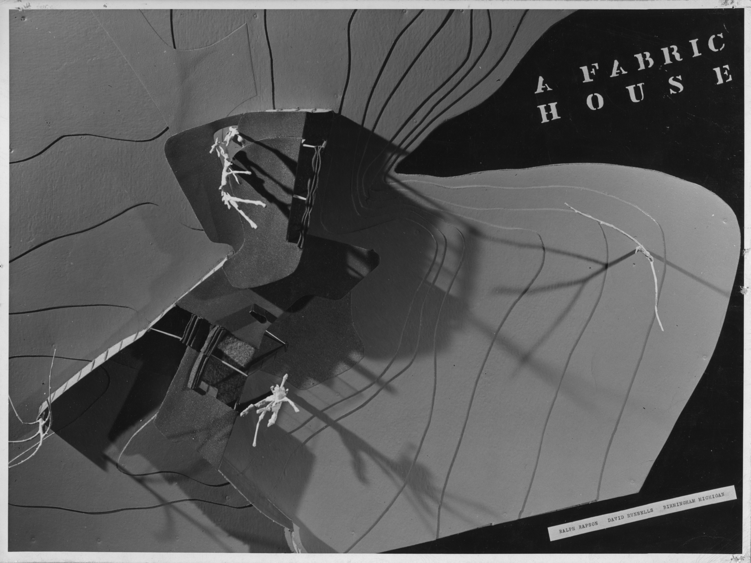 Fabric House - Competition Entry - David B. Runnells with Ralph Rapson