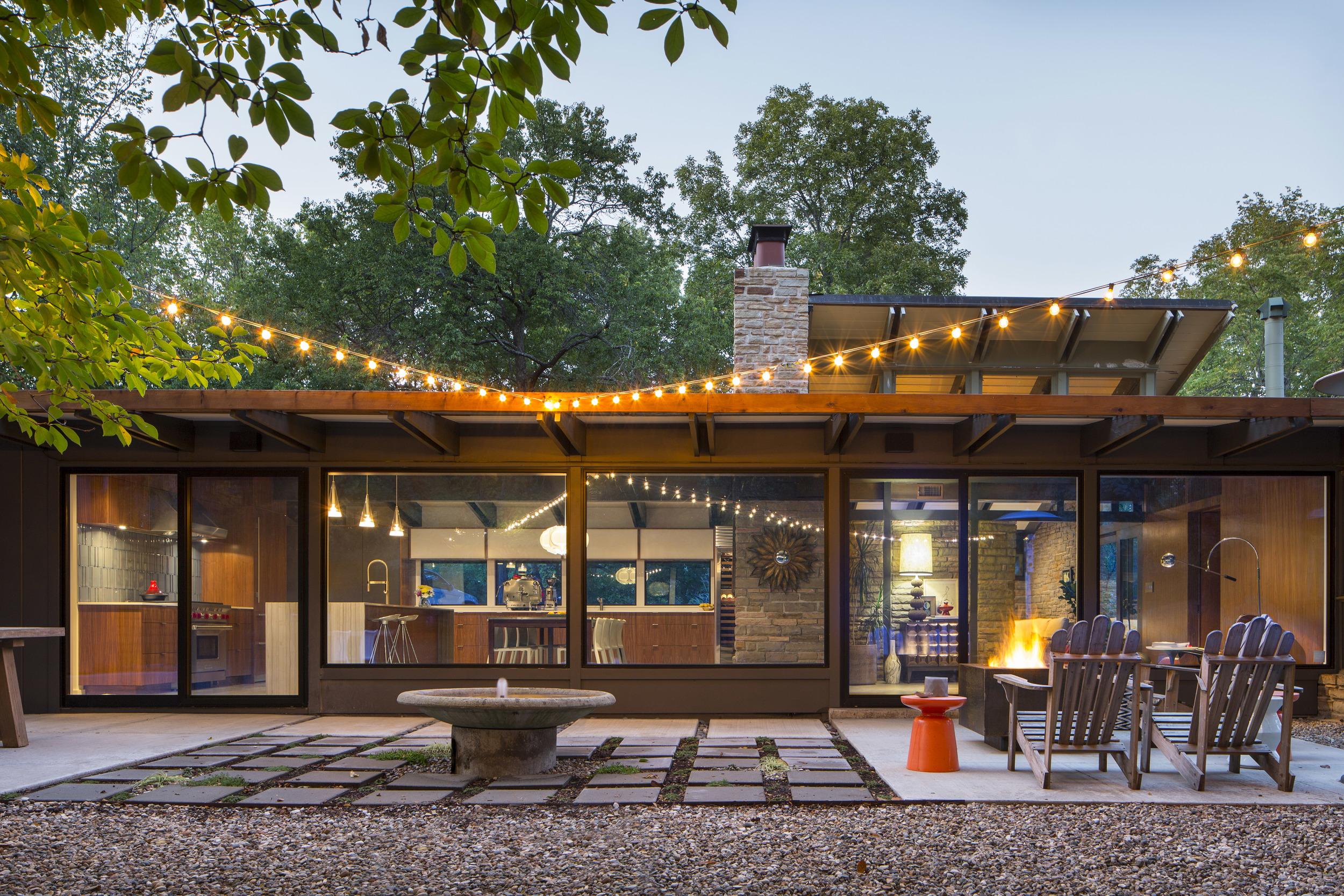 Stewart Williams Residence - Kansas City Missouri - Architect, David B. Runnells