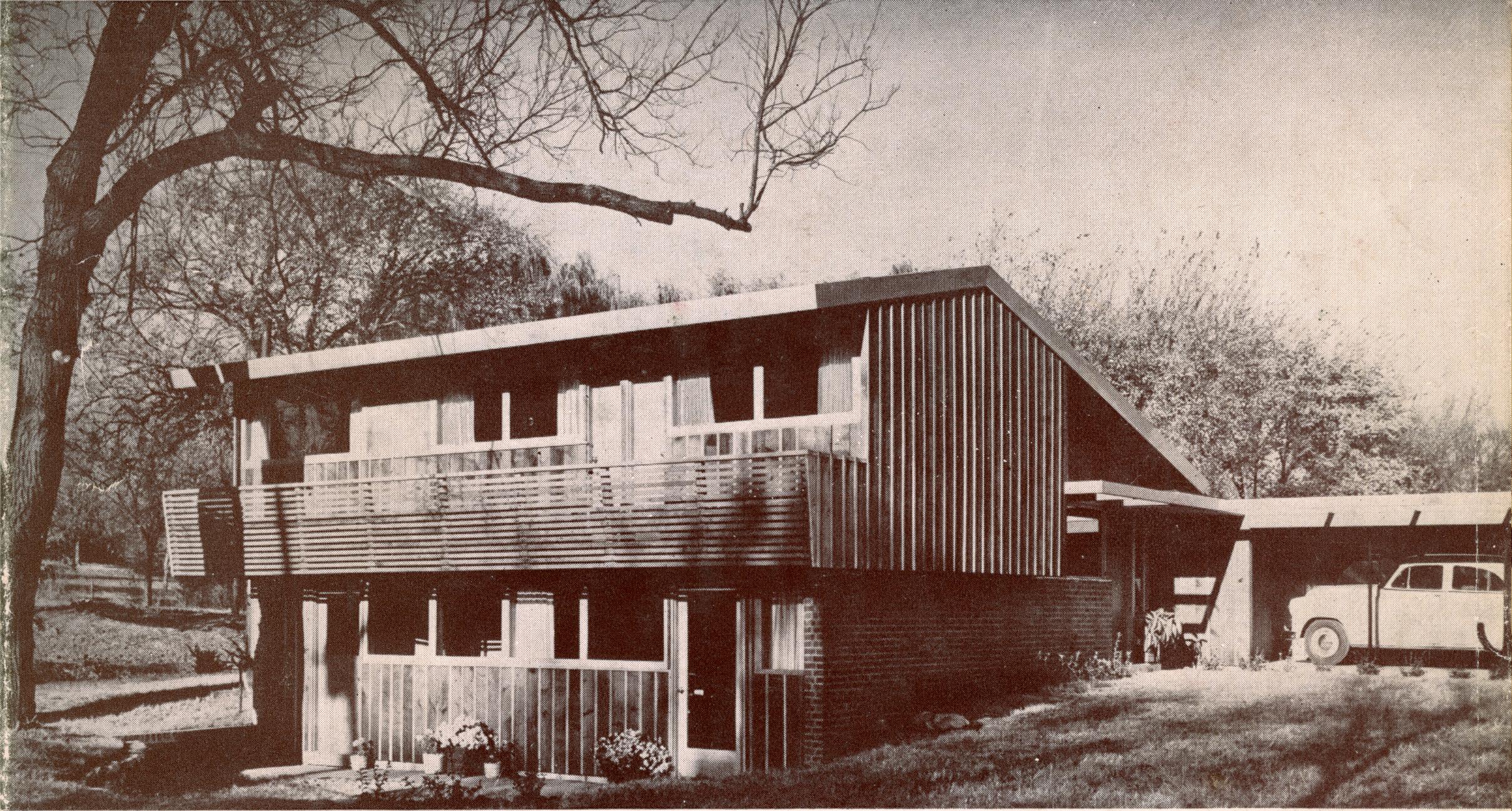 Revere Quality Home - Prairie Village Kansas - Architect David B. Runnells