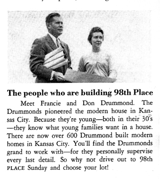 Builder, Don Drummond and Francie Drummond