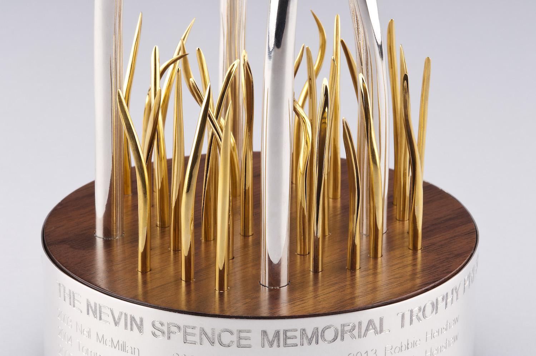 NEVIN SPENCE MEMORIAL TROPHY (detail)