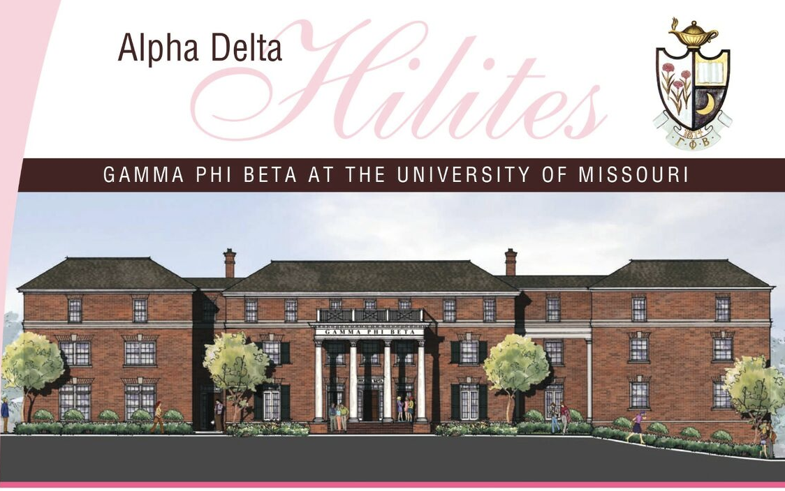 HOUSE UPDATES! - Read the latest edition of the Alpha Delta Hilites to learn more about our house renovation.