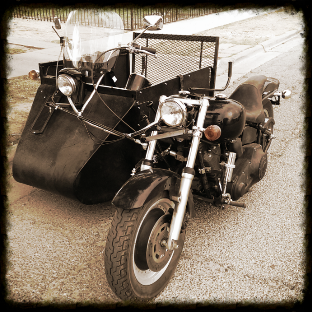 WHEELCHAIR ACCESSIBLE HARLEY