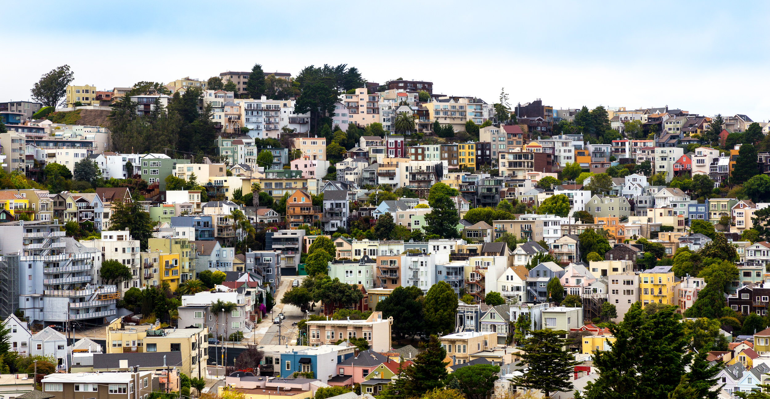 San Francisco hilltop homes