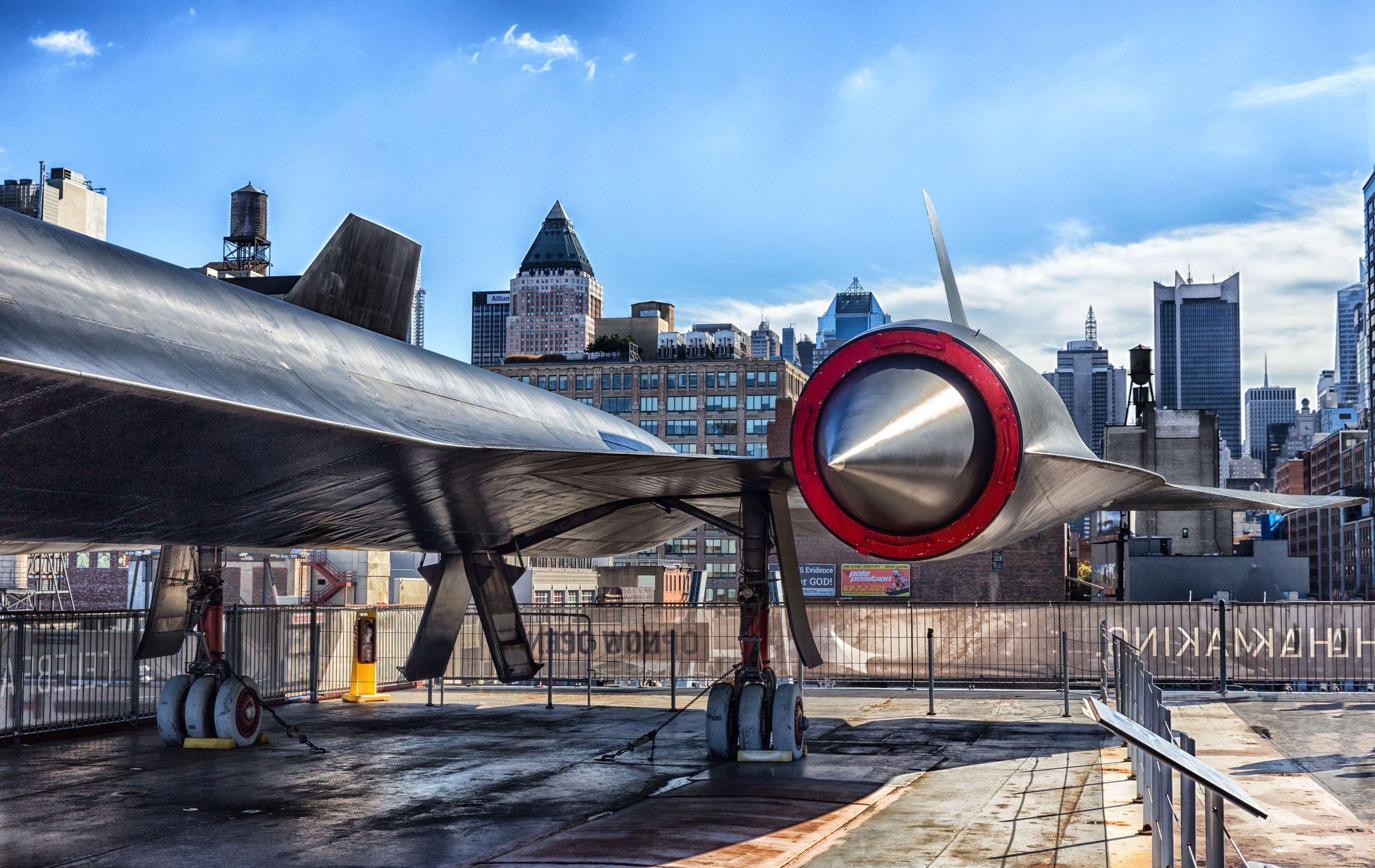 A-12 (CIA version of SR-71 Blackbird) port engine