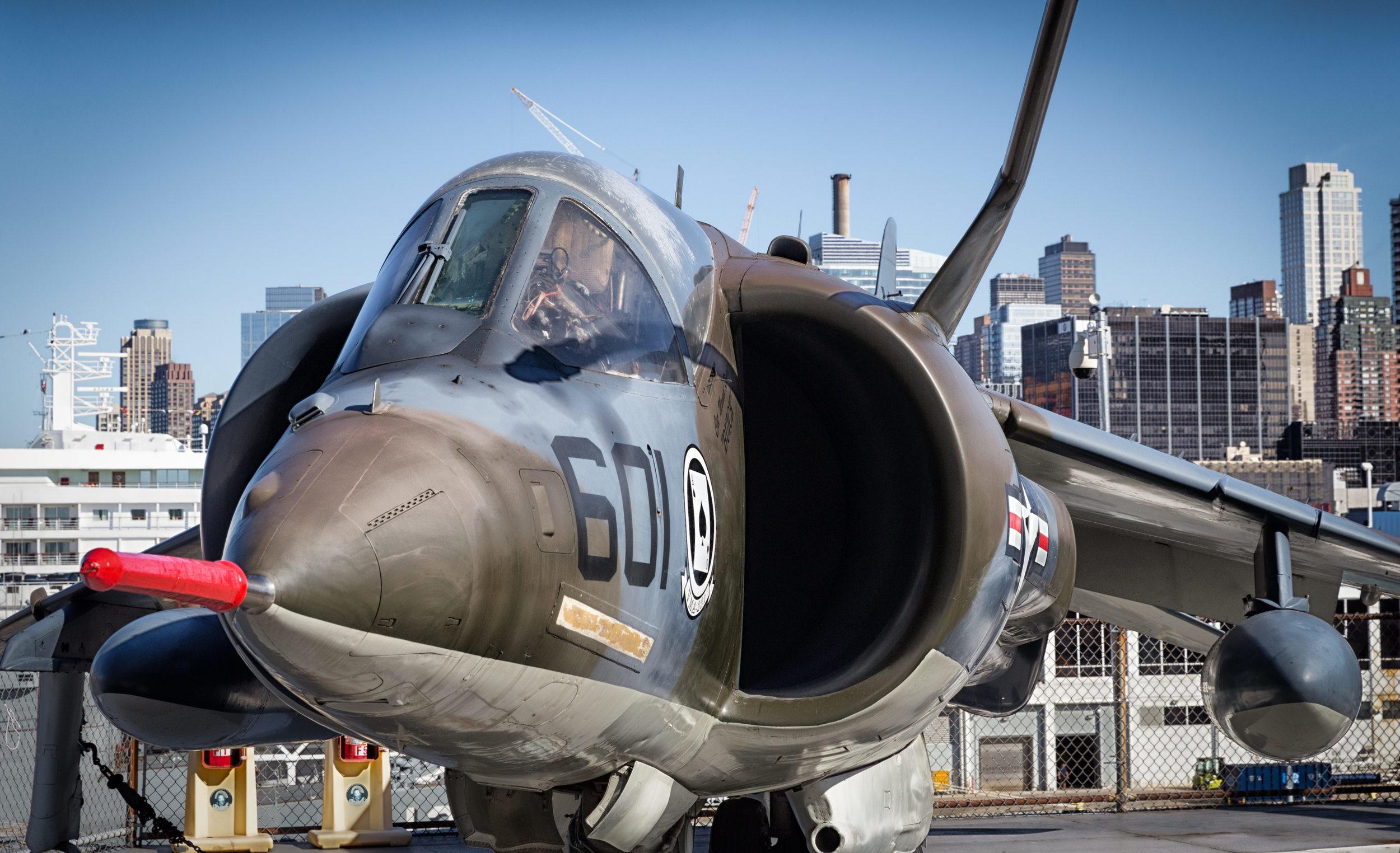 Harrier VTOL jumpjet