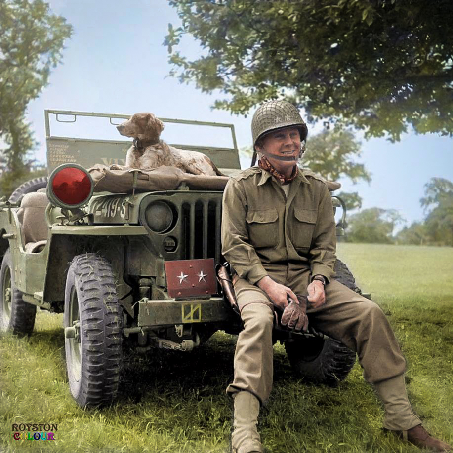 Major General Charles Hunter Gerhardt, Vixen Tor and D-Day
