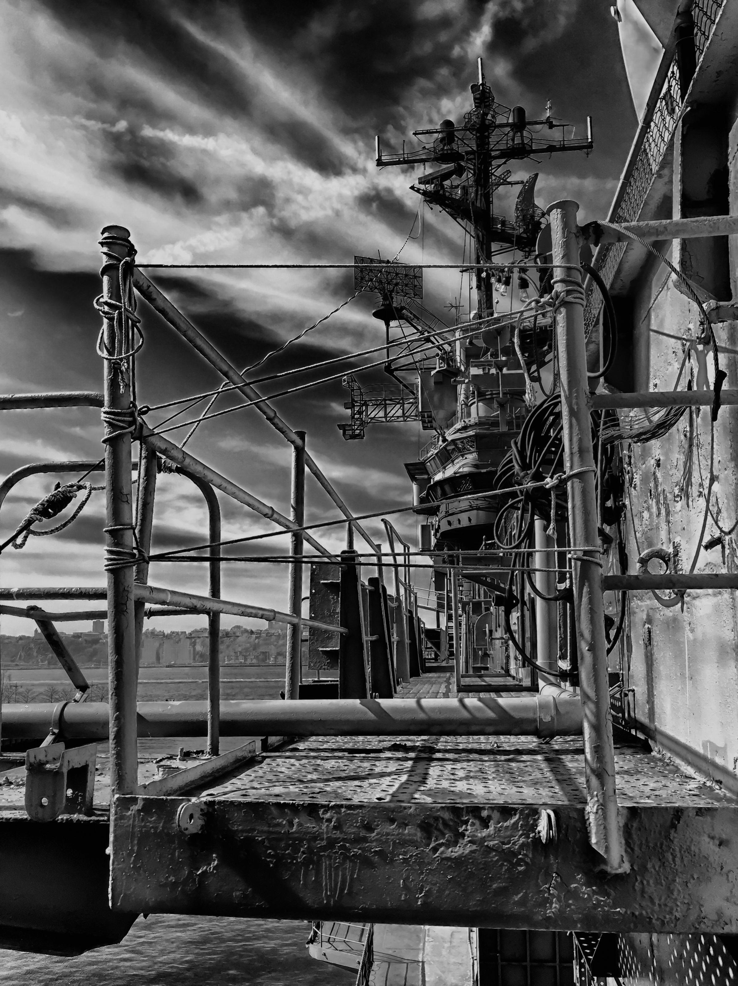 USS Intrepid Starboard Side