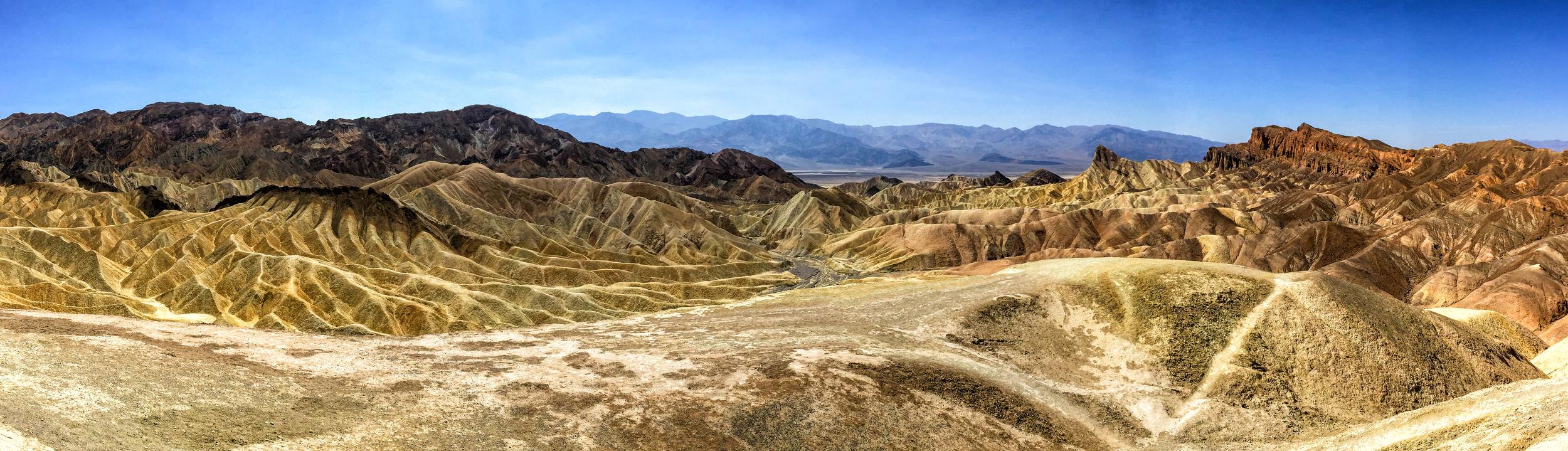 Zabriskie Point panorama