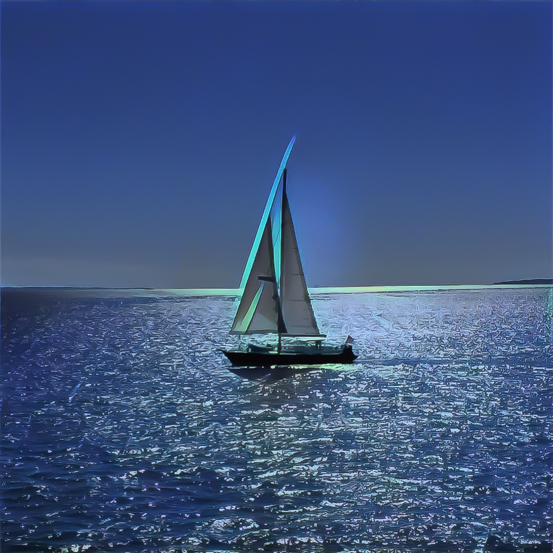 Sailing to Martha's Vineyard