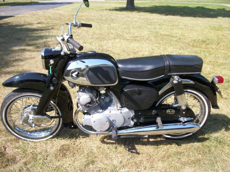 Late-60's vintage Honda Dream