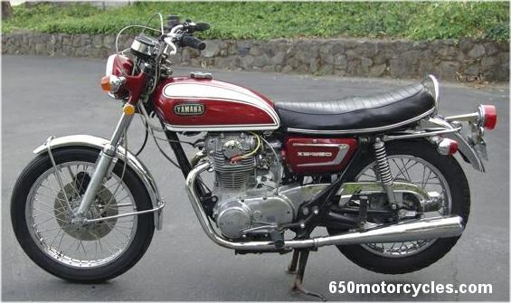 1972 Yamaha XS650