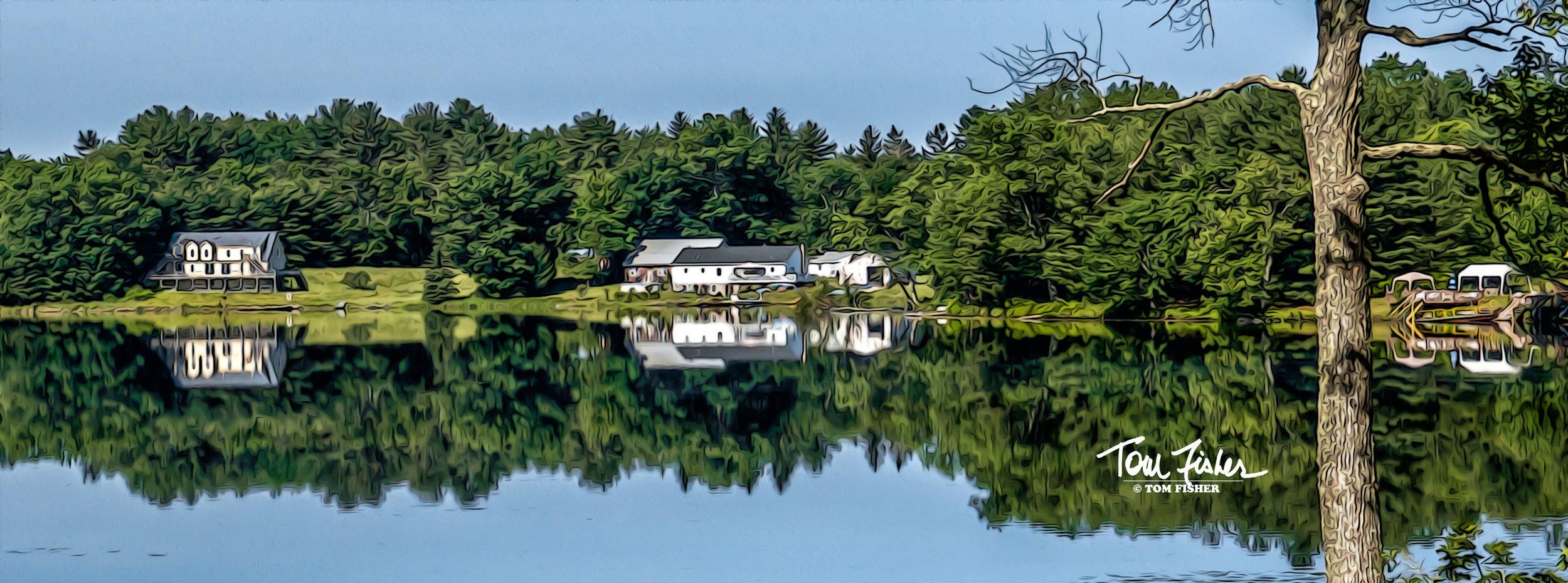 Washington Lake Reflection
