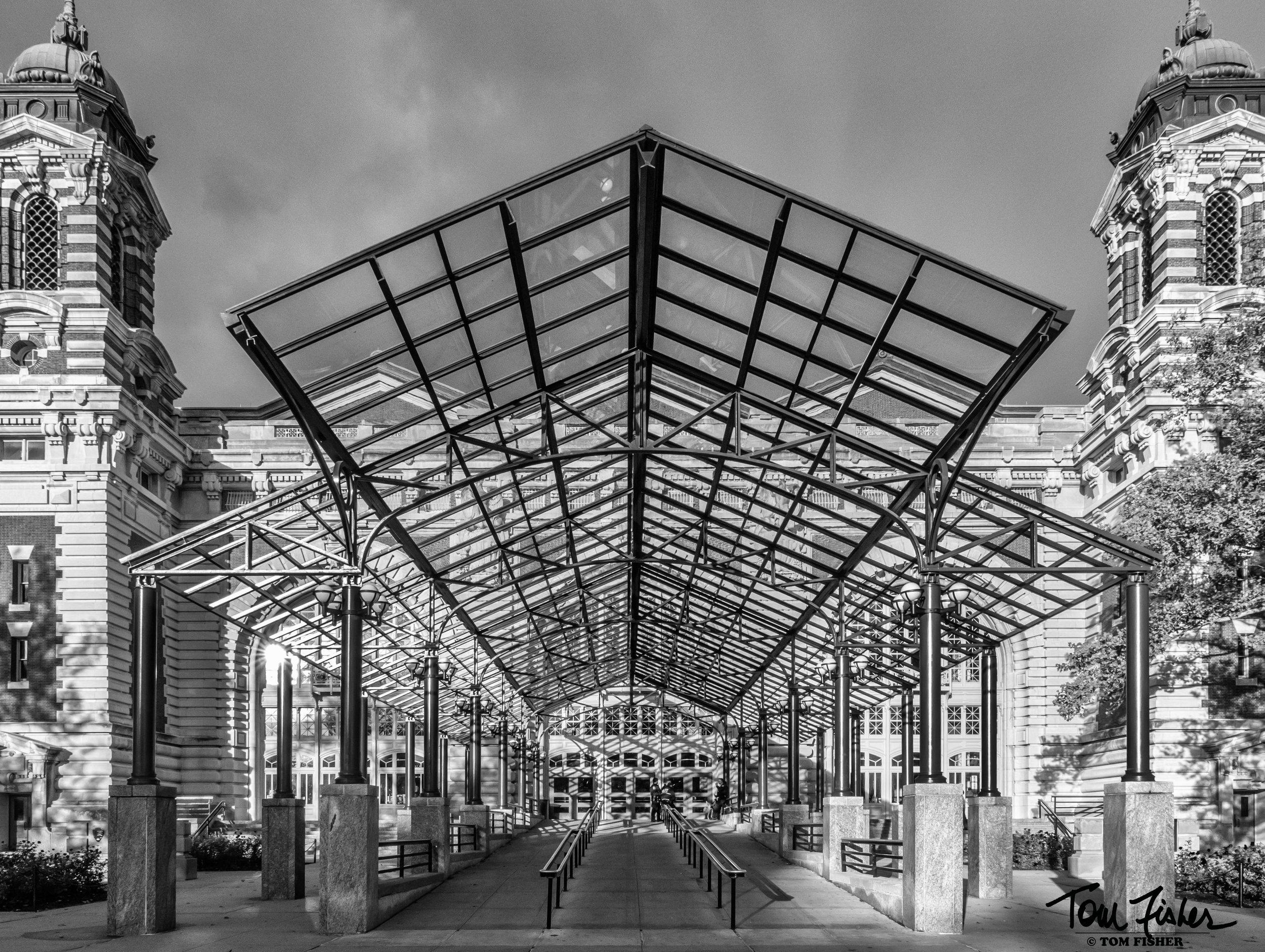 Ellis Island Entrance