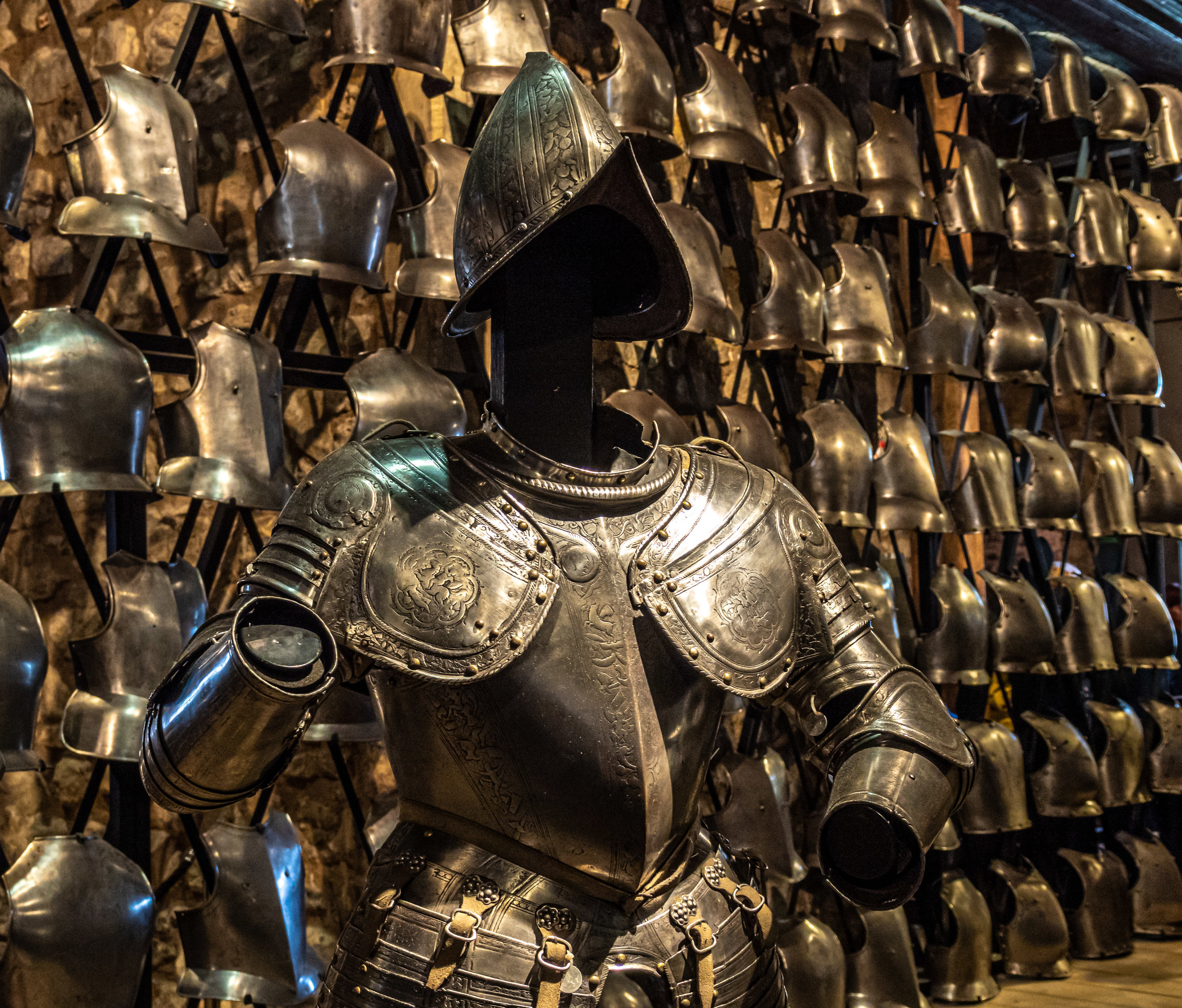 Armour in the Armoury