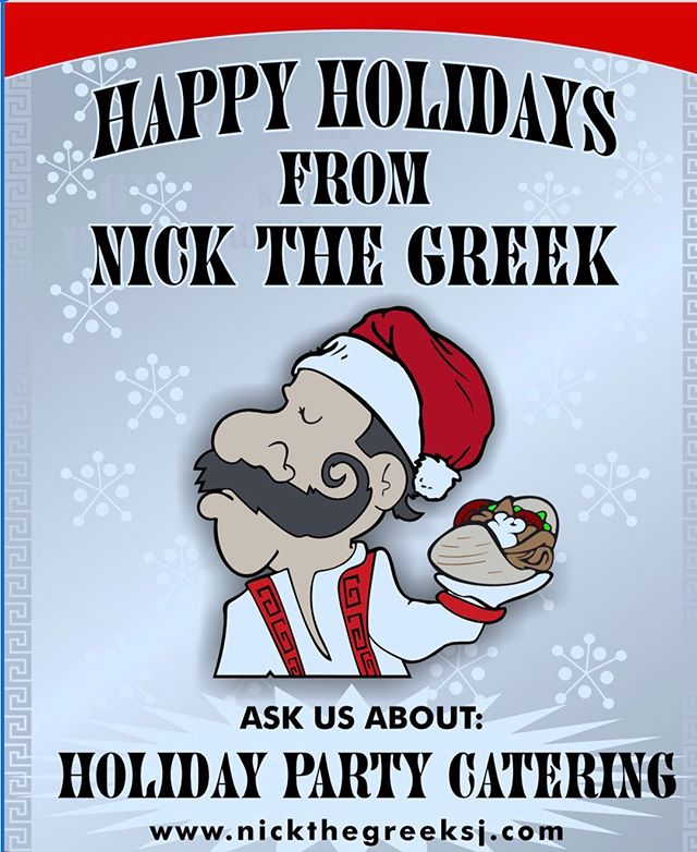 Nickthegreeksj.com  #happyholidays #nickthegreek #caterings #holidayparties