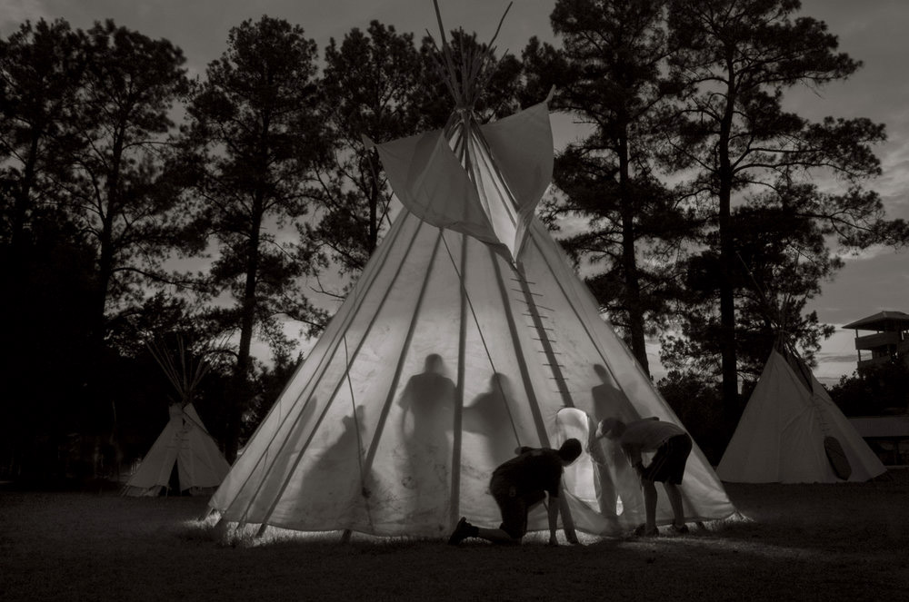 The New Arcadians - Photographs from Scout Camp