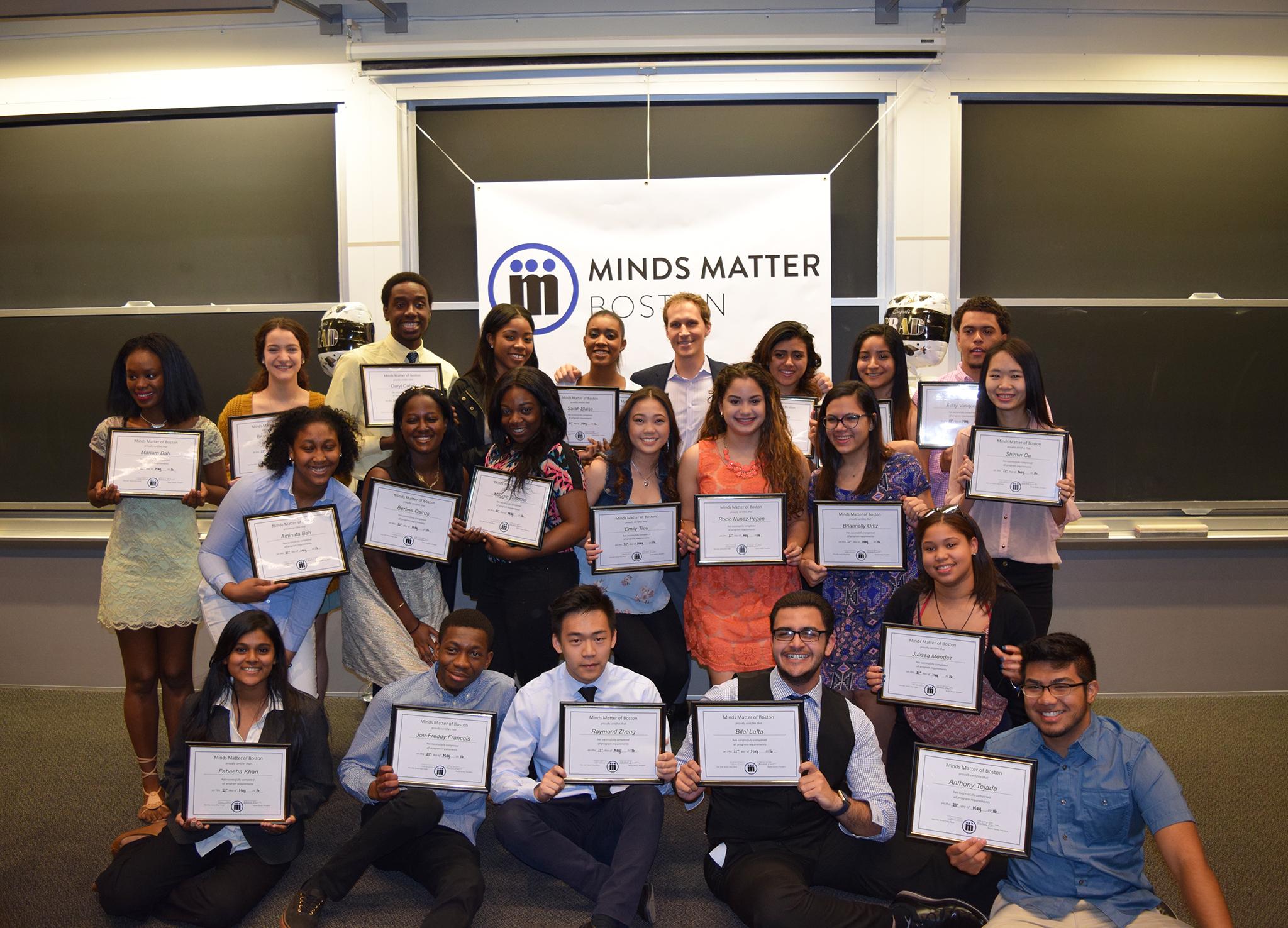 Minds Matter Boston Class of 2016