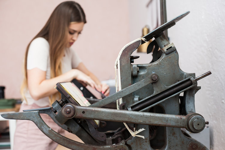 Letterpress Printing - What is letterpress printing?Letterpress printing is a technique of relief printing sing a printing press, a process by which copies are produced by repeated direct impression of an inked, raised surface against sheets or a continuous roll of paper.