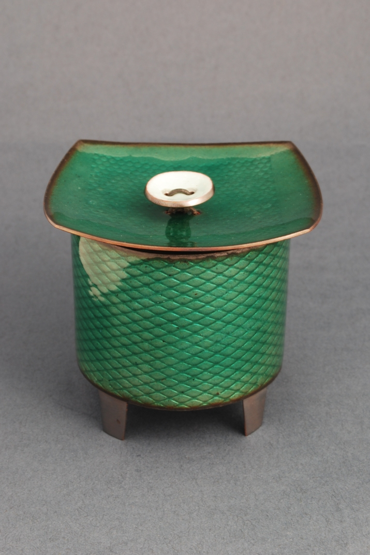 emerald salt box