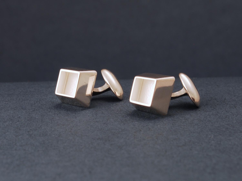 cube cufflinks