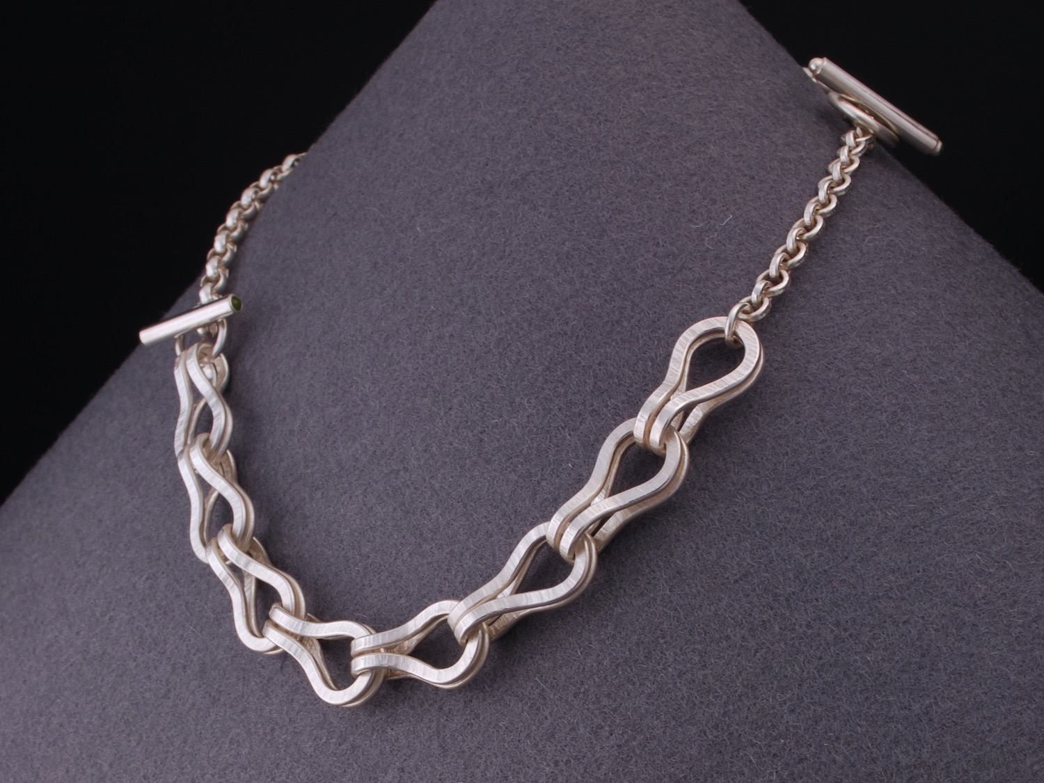 double textured chain