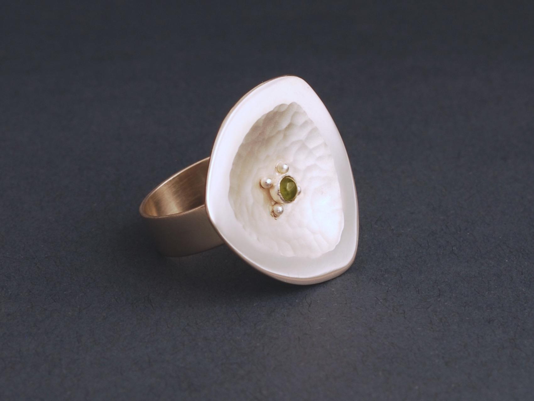 blossom with gem