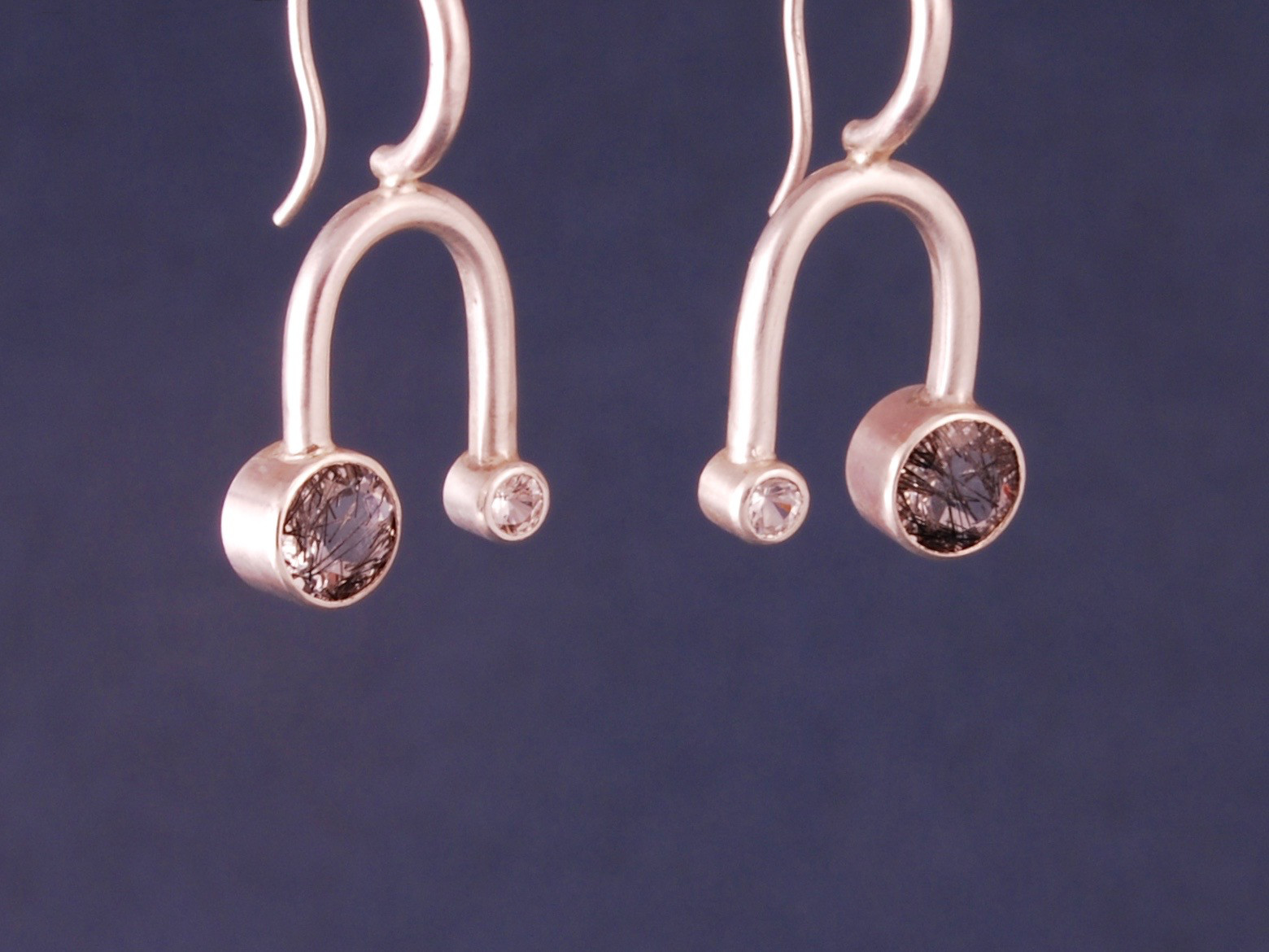 binary orbit earrings