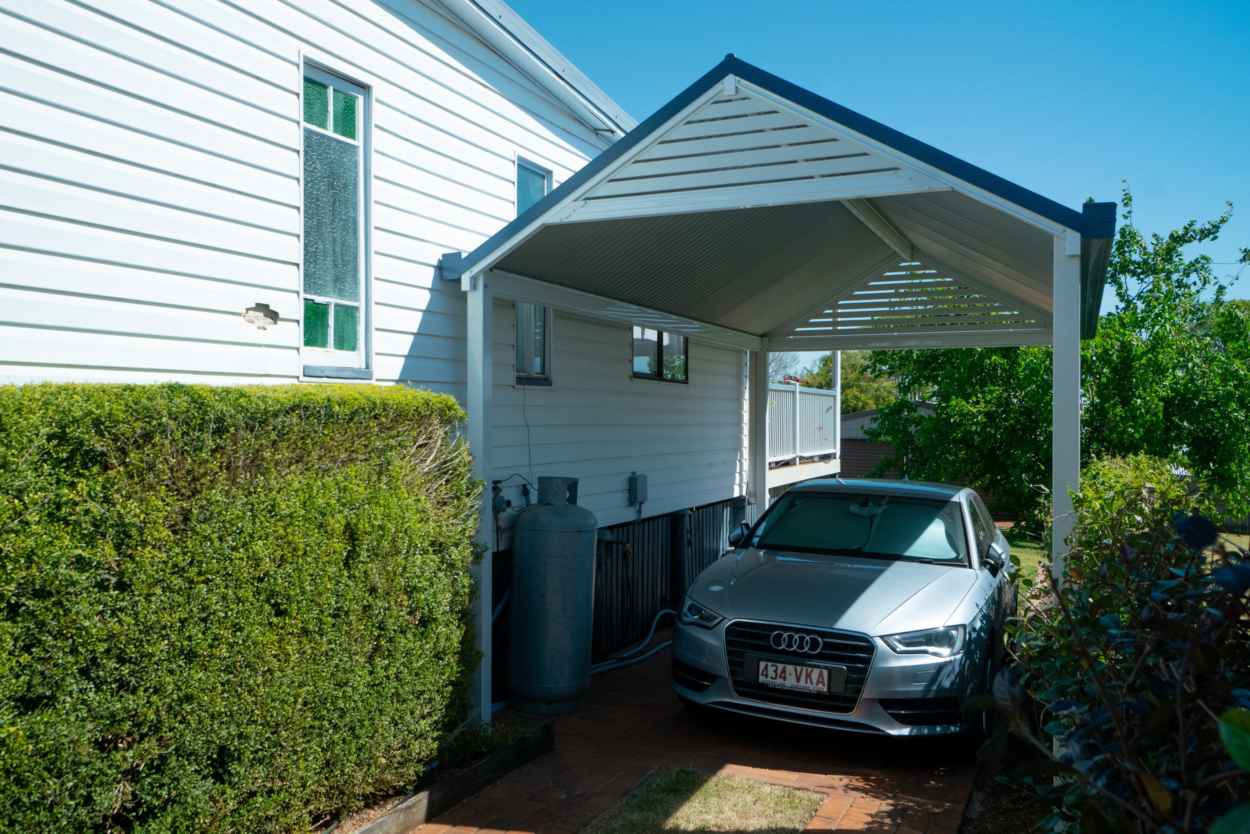 What Style? - Matching the carport into the house is critical to ensuring you are adding to the overall look of the home - that's why you don't just throw up a flatpack. Consider the pitch of the roof, the style of the home, colour selection, age of the house and the area.