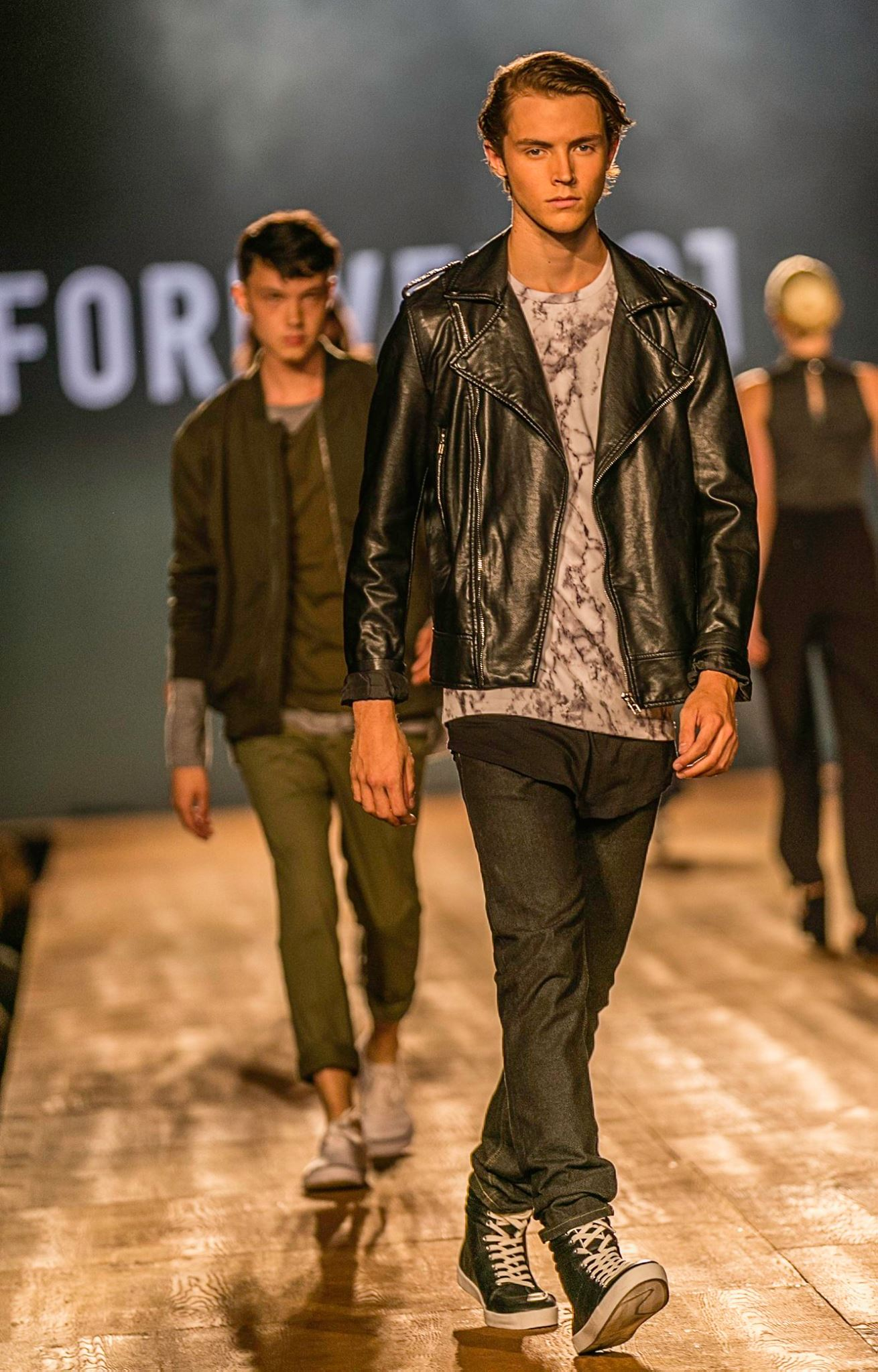 Photographer: Johanna Stosik. Montreal Fashion & Design Festival 2015 - Forever 21 fashion show