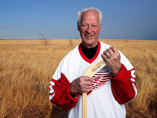 Gordie Howe was born in Floral, Saskatchewan.
