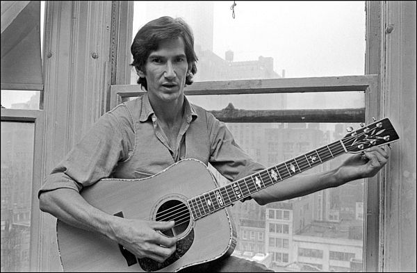 A troubled, yet gifted and highly envied songwriter, Townes Van Zandt's career was often interrupted by long bouts of inactivity after the early 70s- mainly due to his battles with manic depression, drug and alcohol abuse that ultimately cut short his life at age 52 in 1997. But in his late 60s and early 70s prime, he formed into one of the preeminent figures of the growing singer-songwriter movement, but of the wing that consisted of musicians steeped in the country and/or bluegrass sensibilities of the South finding success with a folkier style that played to the coffee houses of hot spots such as San Antonio, Austin, Nashville and Memphis. One of his best tracks from his only studio album released between 1973 and 1986 (Flyin' Shoes) is featured on Part 1 of this S&G theme.