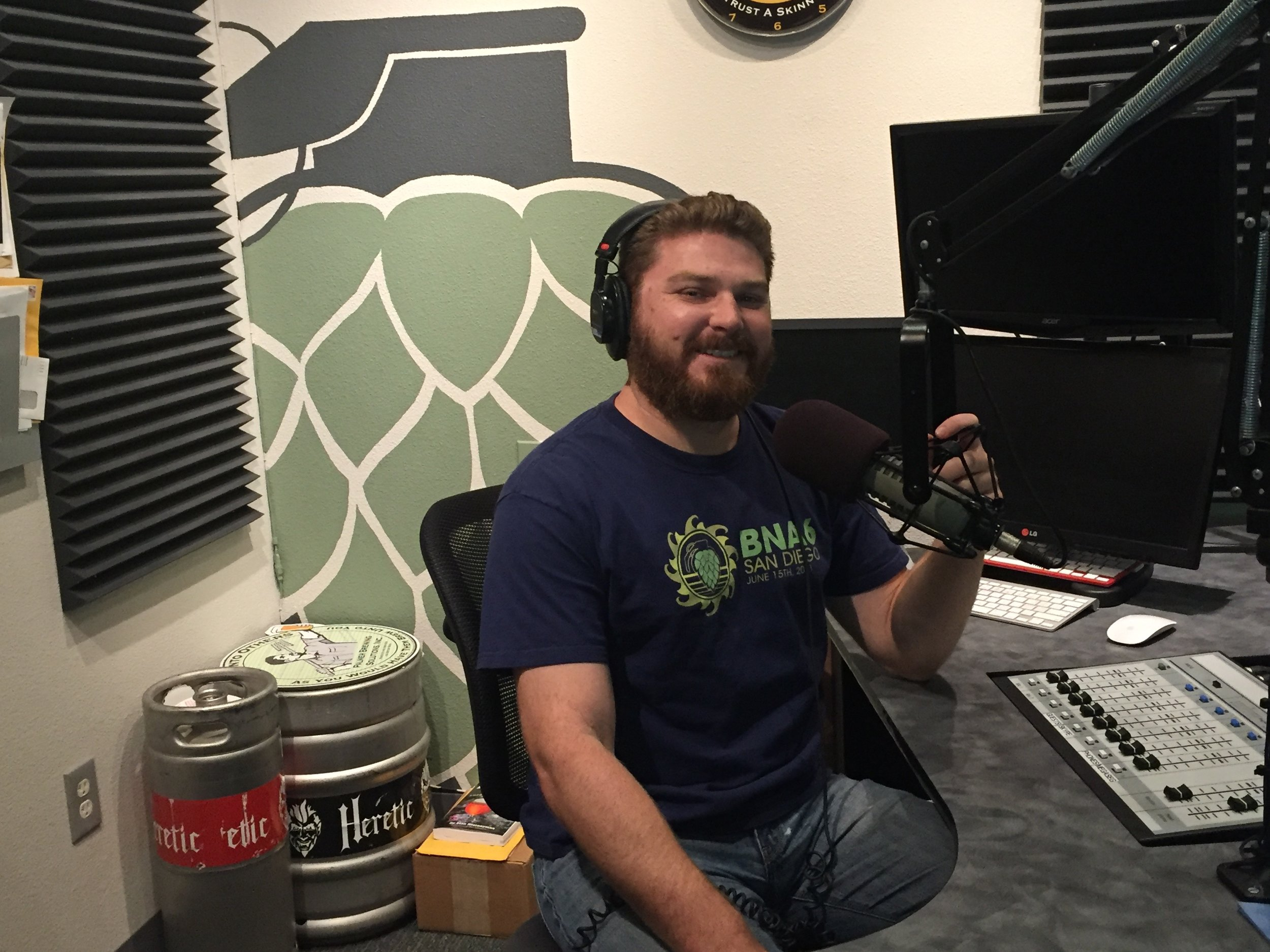 Scott at Tap room radio.jpg