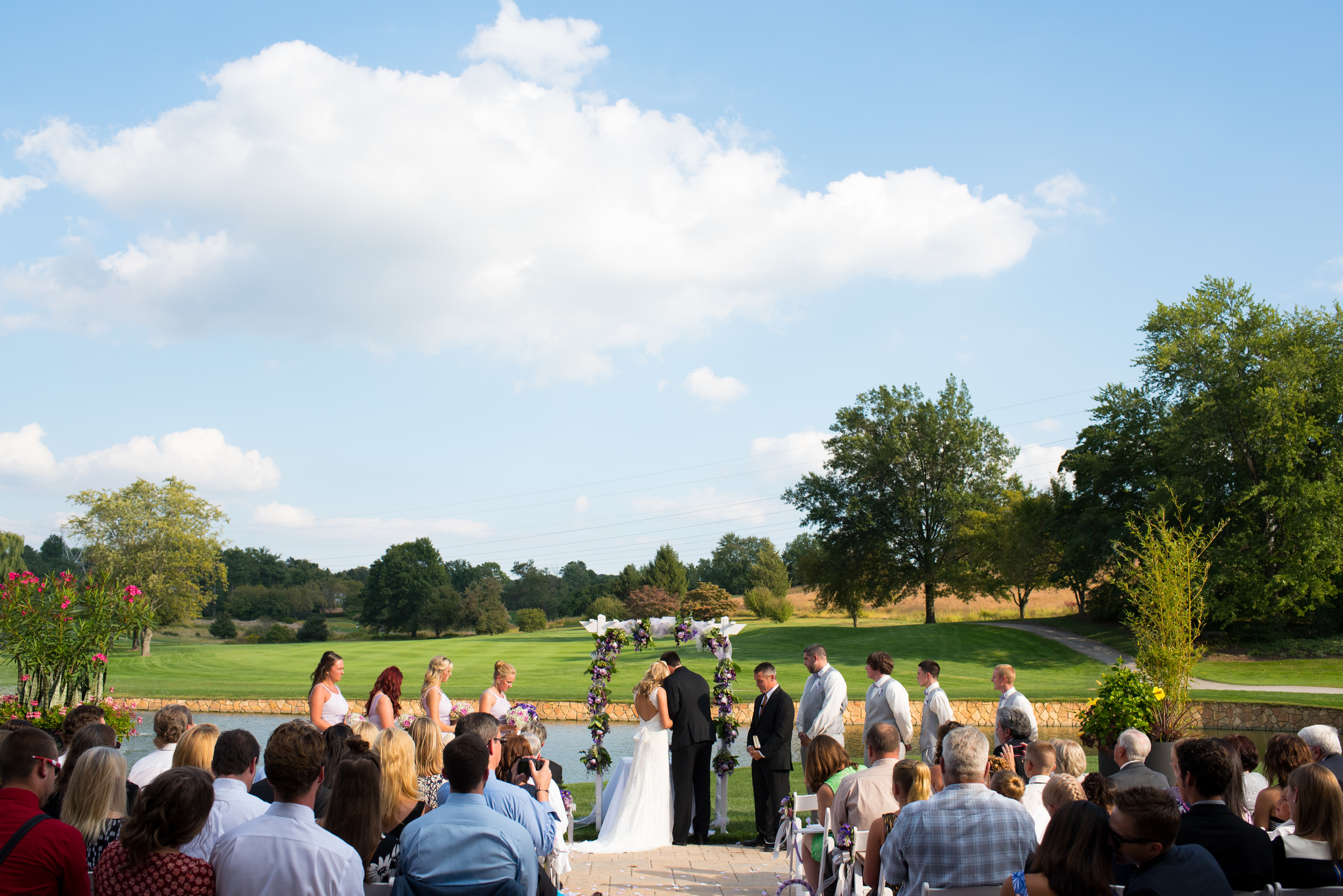 Chester Valley Golf Club Wedding Photographer