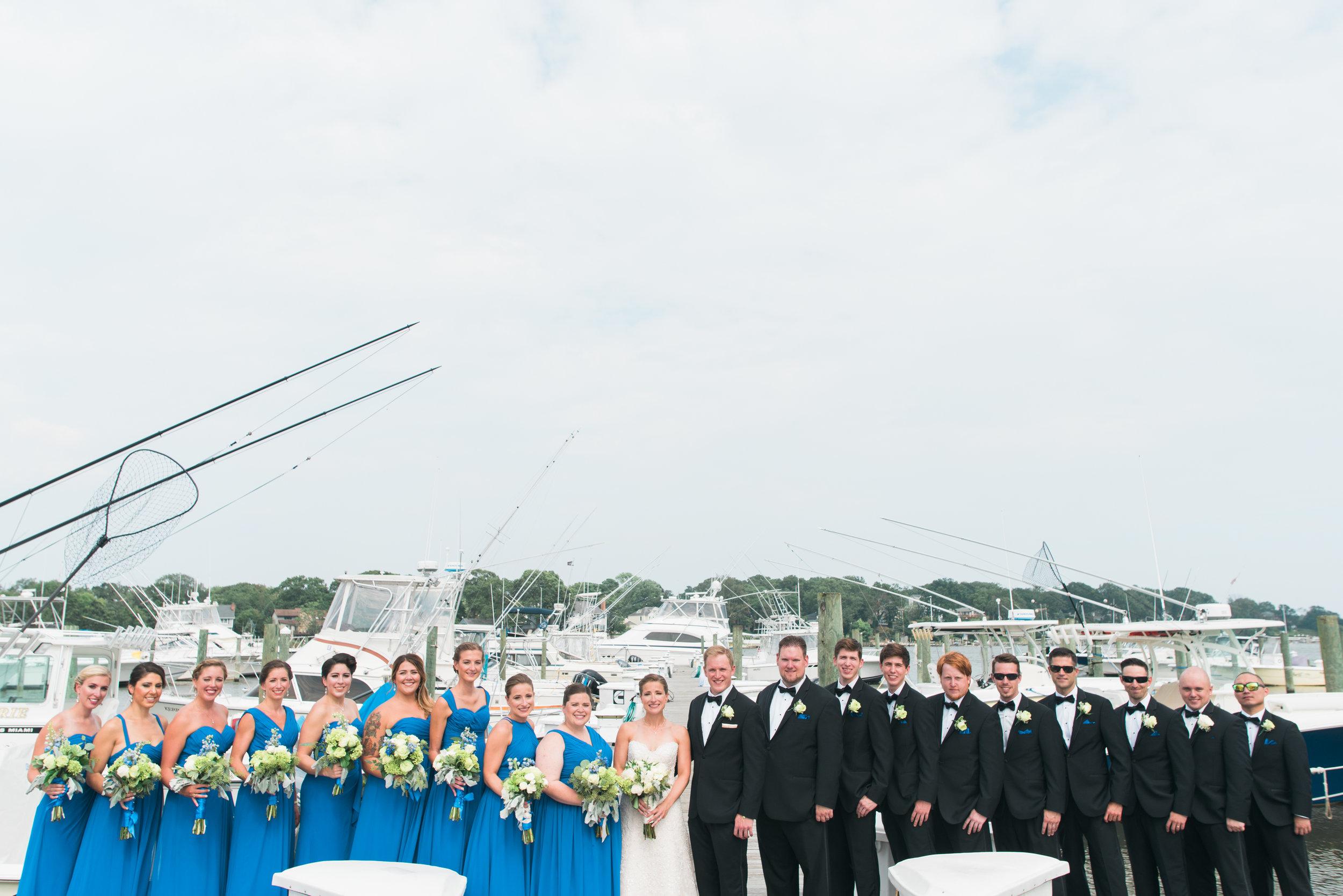 Crystal Point Yacht Club Wedding Photographer