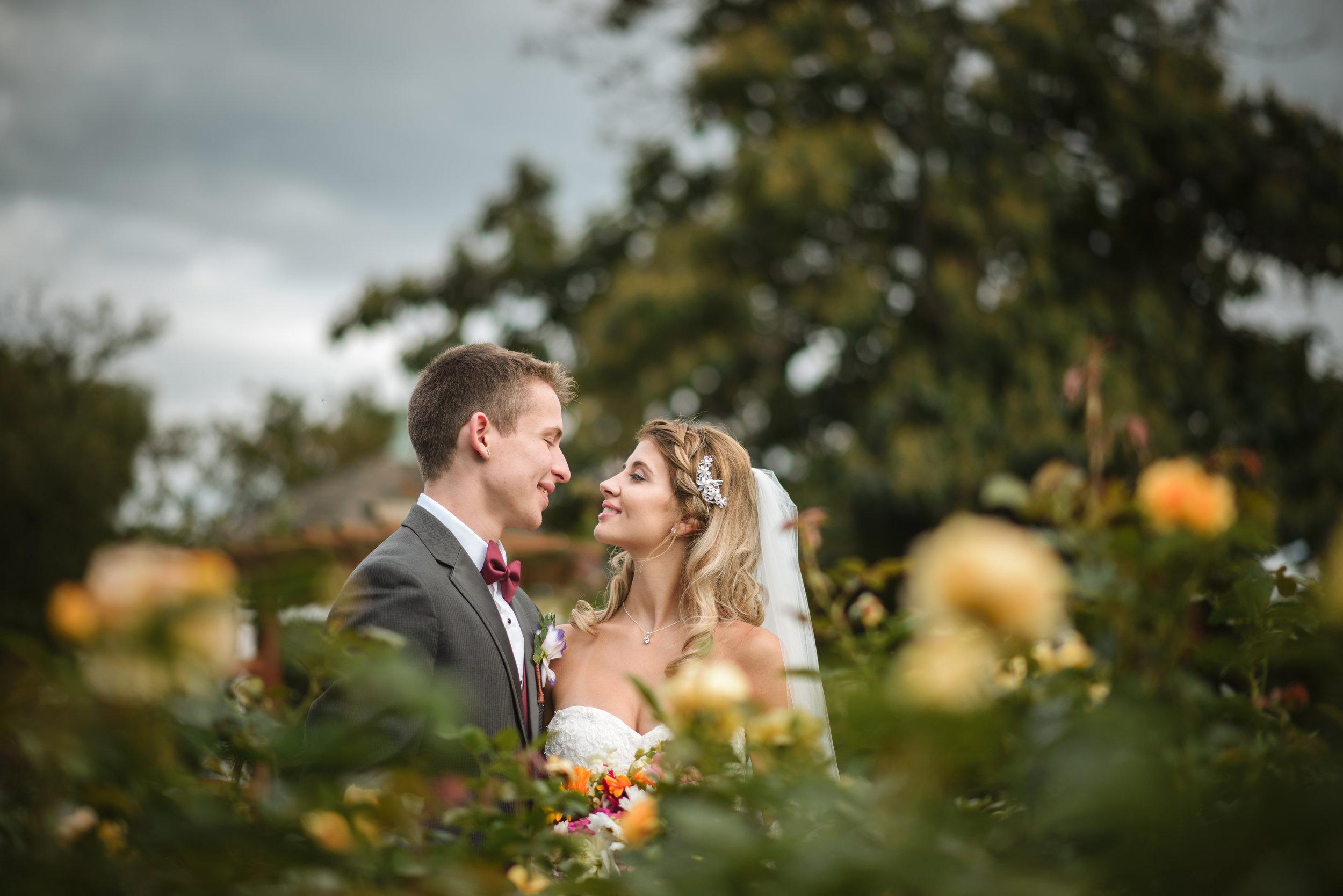Allentown Rose Gardens Wedding Photographer