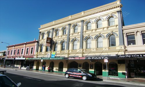 Downtown Launceston teems with Georgian and Victorian architecture. Photo:Tom Fearon/GT