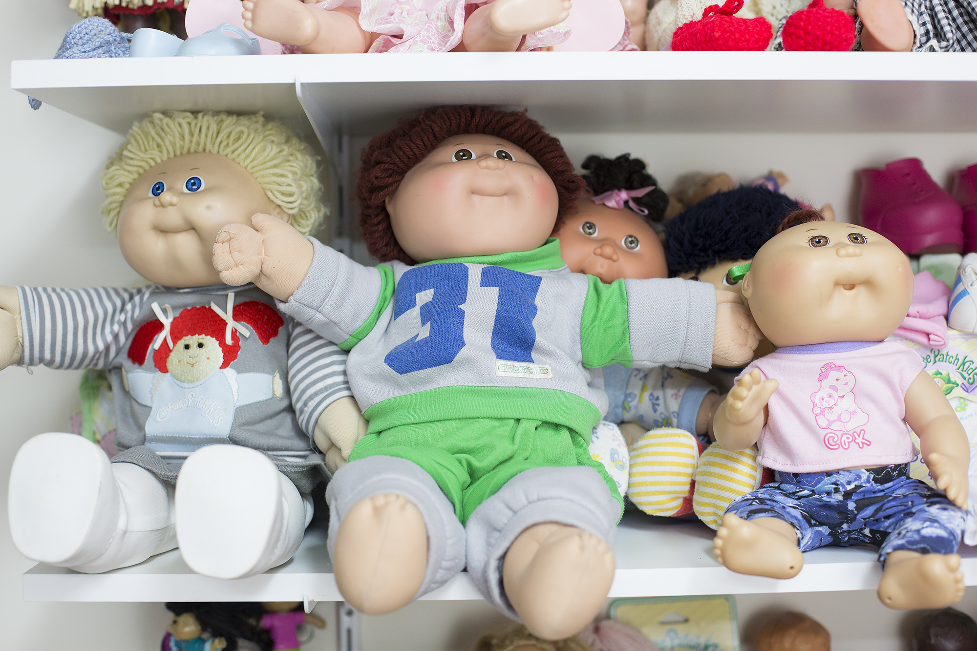 Cabbage Patch Dolls (two boy dolls)1970s.